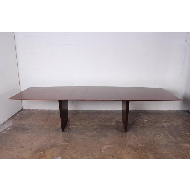 Large Walnut Dining Table by Edward Wormley for Dunbar - Image 2 of 10