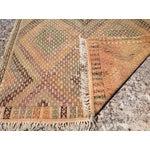 Image of Vintage Turkish Kilim Rug - 5′4″ × 10′4″