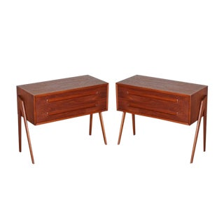 Danish Nightstands by Aksel Kjersgaard - Pair