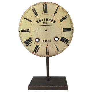 Clock Face Decor Item
