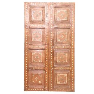 Antique Bone Inlay Door