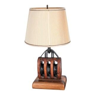 1840s Great Lakes Shipwreck Salvage Lamp
