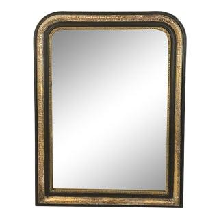 19th C. Louis Philippe Greek Key Mirror