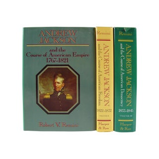 Vintage Andrew Jackson Books - Set of 3