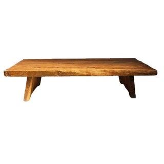 Elm Slab Coffee Table