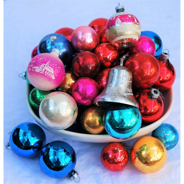 Vintage Christmas Ornaments - Set of 43 - Image 2 of 11