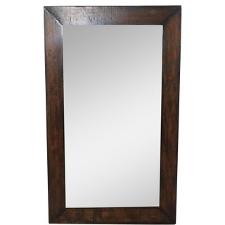 Pottery Barn Wood Frame Mirror