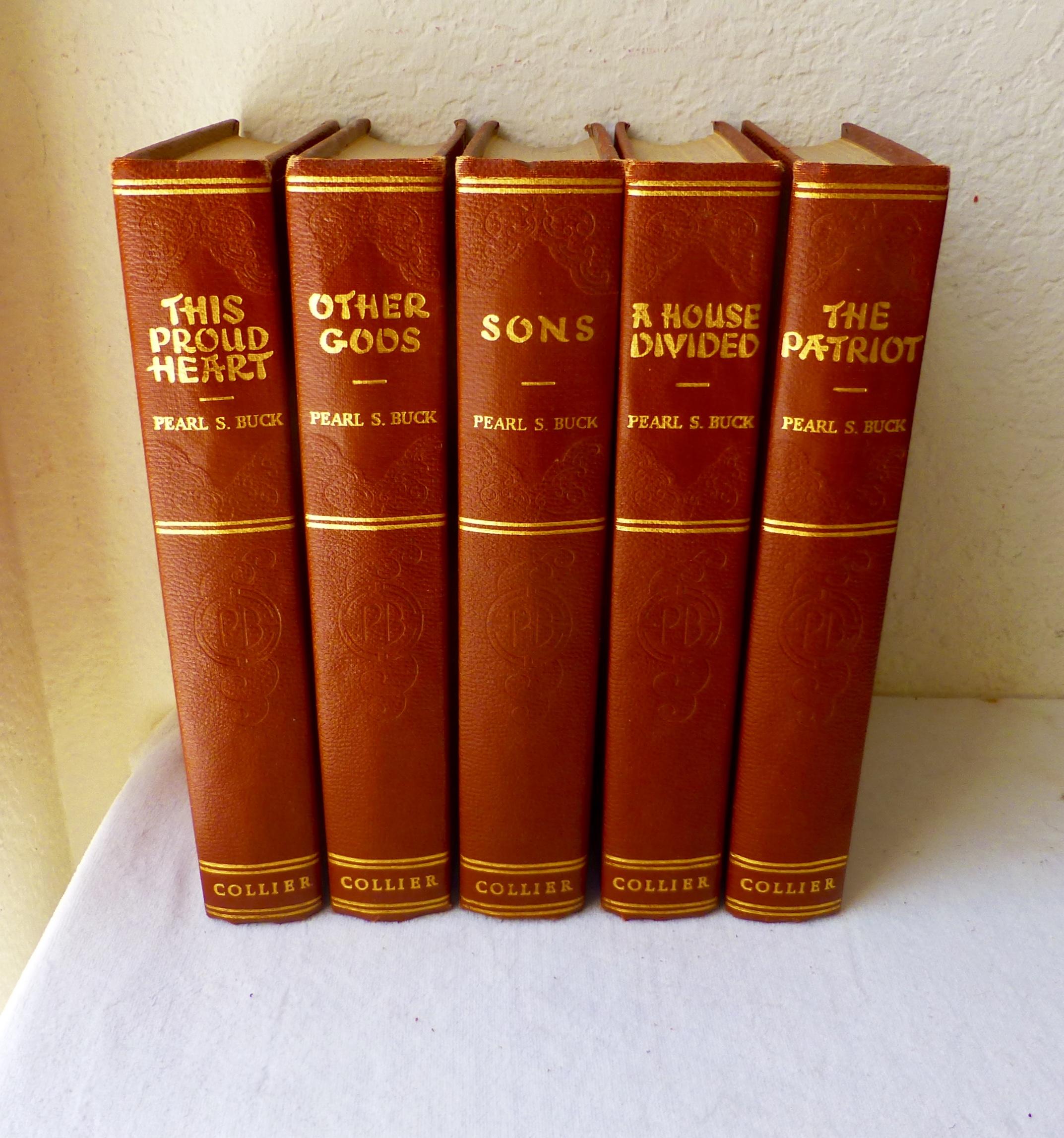 Pearl S. Buck Novels - Set of 5 | Chairish