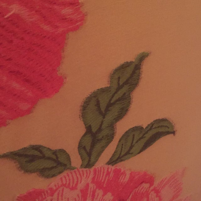 Image of Floral Embroidered Arm Chair