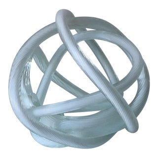Mid-Century Abstract Knot Sculpture