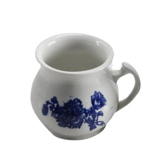 Blue & White Transferware Sugar Bowl