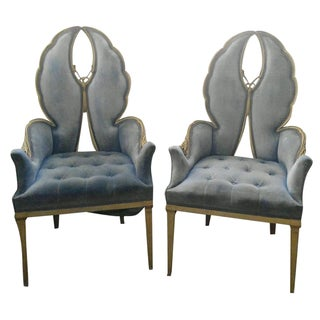 Vintage Regency Moderne Butterfly Chairs - A Pair