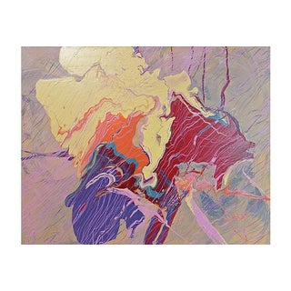 """Sans Blue"" Painting by Bill DeMott"