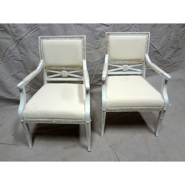 Swedish Armchairs - Set of 2 - Image 3 of 6