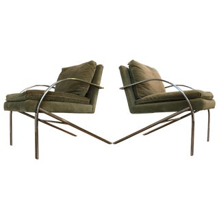 Paul Tuttle Style Arco Chairs - Pair