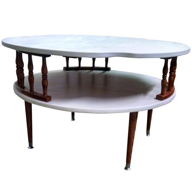 Ethan Allen Delphi Coffee Table: Mid Century Modern Ethan Allen Coffee Table