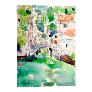 Italy North Watercolor