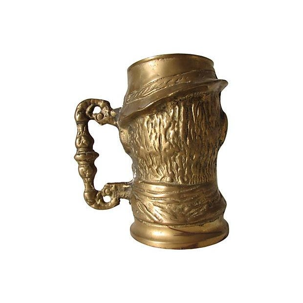 Old Man Solid Brass Mug - Image 3 of 3