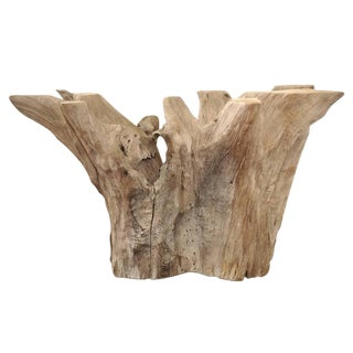Cypress Tree Driftwood Dining Table or Console Base