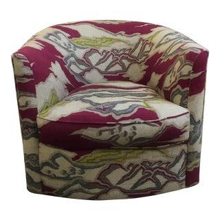 Custom Club Chair's W Swivel
