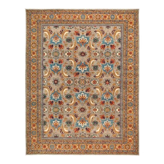"""Hand Knotted Ziegler Area Rug - 9' 1"""" X 11' 8"""""""