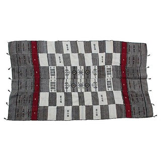 Vintage Fulani Wool Blanket