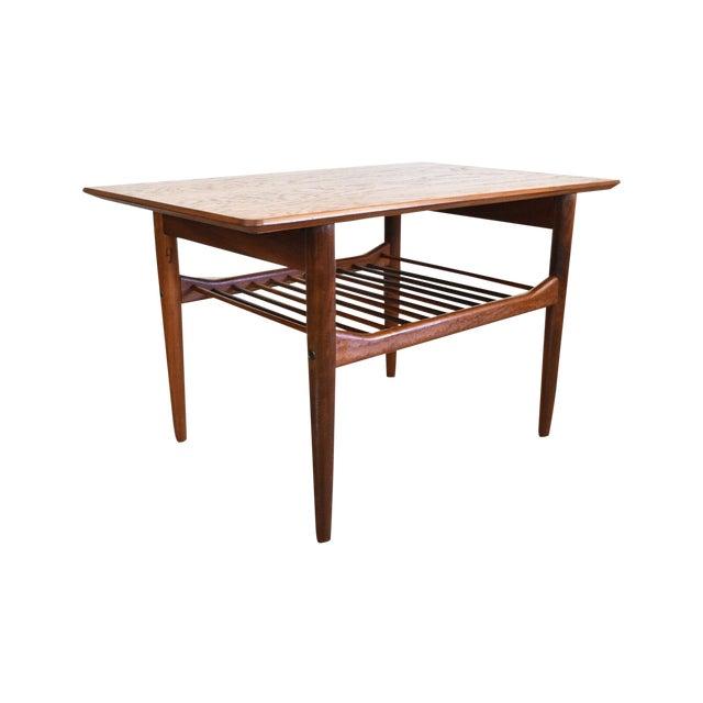 Image of Vintage Lb Kofod Larsen for G-Plan Teak End Table