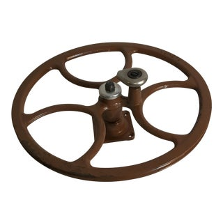 Industrial Steel Steampunk Pulley Wheel