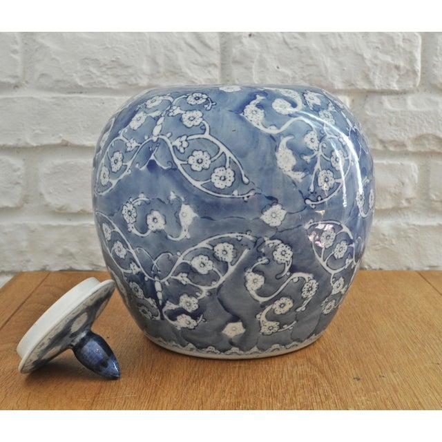Blue & White Chinese Ginger Jar - Image 4 of 5