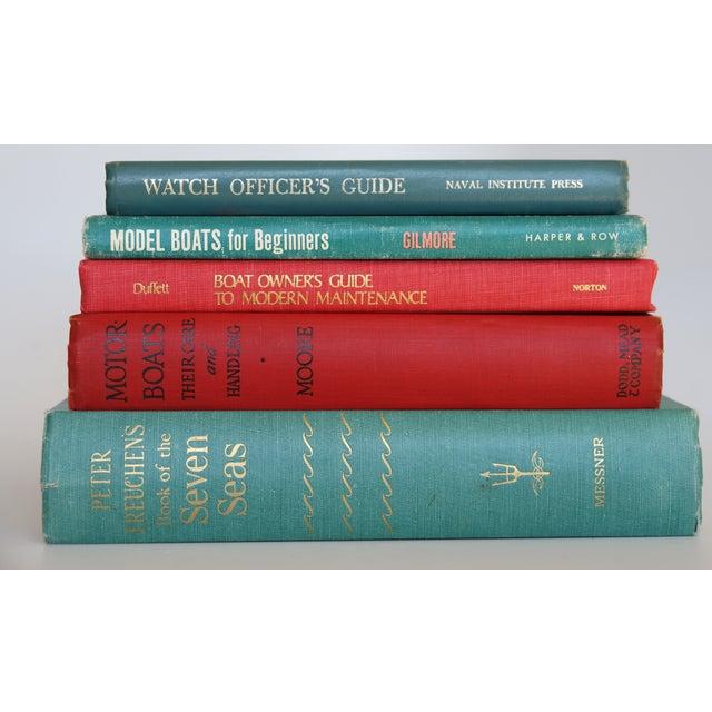 Vintage Nautical Books - Set of 5 - Image 4 of 7