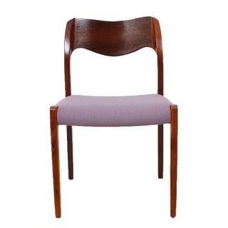 Danish Modern Niels Moller Rosewood Chair Model 72