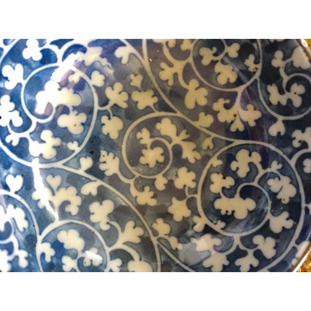 Japanese Blue & White Ceramic Bowls - Set of 10 - Image 10 of 10