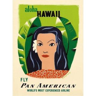 Framed Hawaii Travel Poster