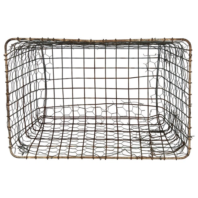 Vintage Wire Vegetable Drying Basket - Image 4 of 4