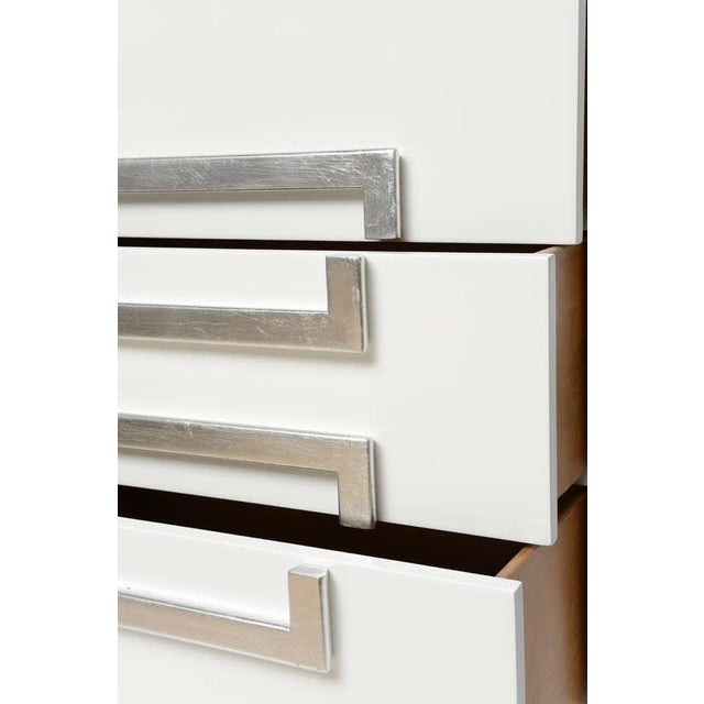 Pair of Lacquered Vintage Kittinger Cabinets - Image 3 of 8