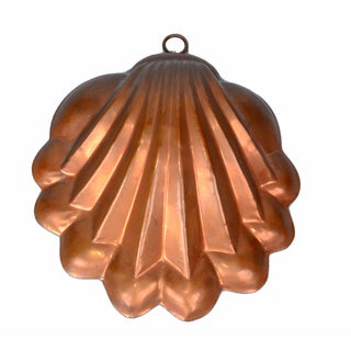 Copper Seashell Bunt Cake Wall Hanging