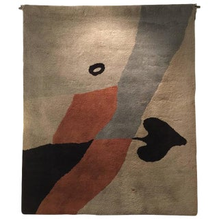 Rug/Wall Art after a design by Hans (Jean) Arp Edition Marie Cuttoli/Lucie Weill
