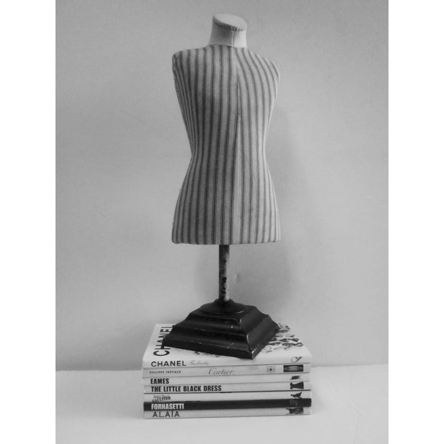 Antique French Miniature Dress Form Mannequin - Image 8 of 11