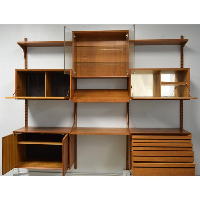 Mid-Century Modern Adjustable Wall Unit - Image 3 of 10