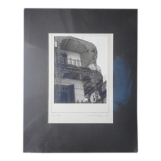 """Mid 20th C. Signed Fine Art Photograph-""""Old Lace""""-J. Oliver Yeakle"""
