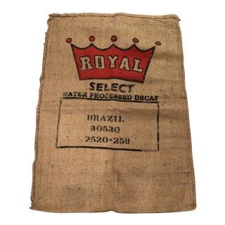Vintage Brazil Coffee Bag