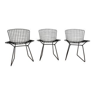Original Knoll Bertoia Side Chairs - Set of 3