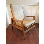 Image of Vintage Mid-Century Modern Danish Lounge Chair