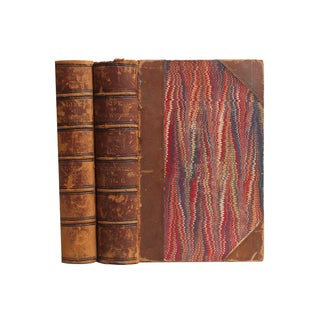 Life of Daniel Webster Distressed Books - A Pair
