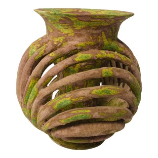 "Scot DiStefano ""Saved From the Abyss"" Vase"