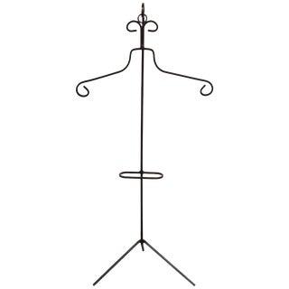 Frederick Weinberg Style Iron Tripod Valet
