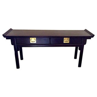 Asian Inspired Century Console Table