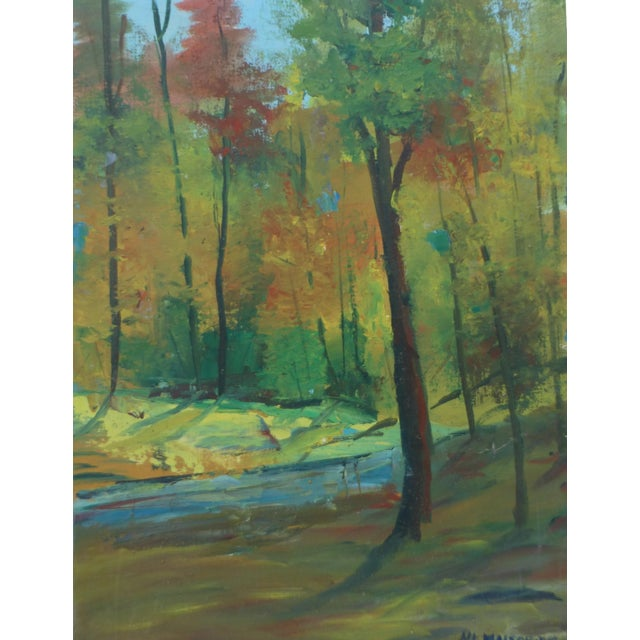 Fall Leaves Painting by H. L. Musgrave - Image 1 of 6