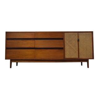 Kipp Stewart Calvin Walnut & Cane Dresser