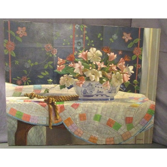 "Ardis Shanks ""Chinese Export"" Still Life Painting - Image 2 of 7"